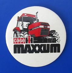 Case IH Maxxum 5140 tractor - button badge (1990 / 1991) (RETRO STU) Tags: caseih5140maxxumtractor tractors farmmachinery internationalharvester tennecoautomotive davidbrownltd steigertractor fortschrittgmbh newhollandag cnhglobal buttonbadge