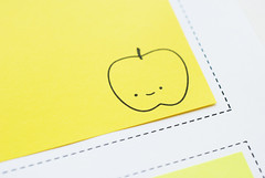 Printable Apple Sticky Notes (wildolive) Tags: school apple lunch notes sticky postit printable wildolive