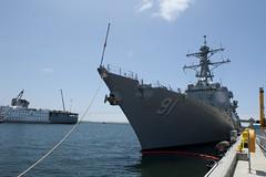 unitedstates sandiego calif destroyer ussarizona usspinckneyddg91