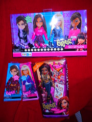 8/29/12 Shopping! (alexbabs1) Tags: fall fashion sign toys us punk dolls display 4 n aisle entertainment r passion sasha chic woohoo boho mga prep totally stylish 2012 bratz packs tattood so mgae fa12 beachtru