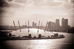 (Ming Au) Tags: uk england london thames o2 millennium wharf dome canary