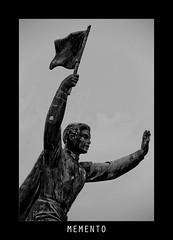 Memento park #10 (Babreka) Tags: blackandwhite bw sculpture monument statue canon eos blackwhite communism amateur socialism szoborpark szobor amatuer fekete fehér feketefehér 1100d amatőr mementopark kommunizmus szocializmus canon1100d