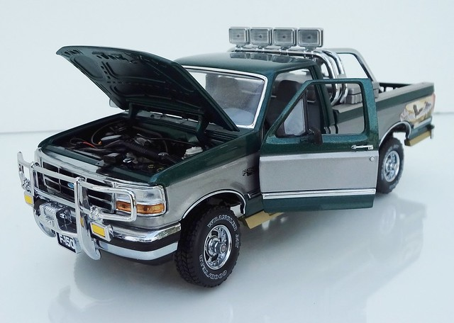 ford 4x4 1996 pickup f150 diecast franklinmint 124scale fieldstream