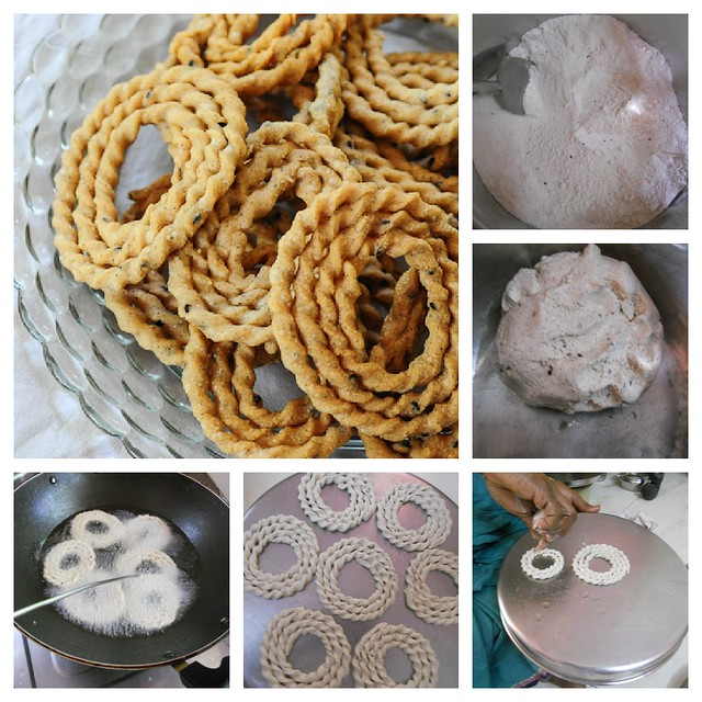 Kai Murukku | Raw Rice Murukku | Snacks Recipes