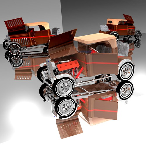 my own Hot Rod 3D project