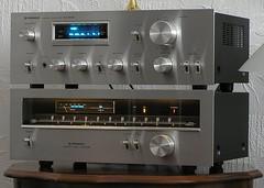 Pioneer SA608,TX608 (AudioClassic) Tags: tuner amplifier audio pioneer vintagehifi retrostereo classicstereo