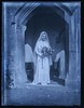 """Young bride at the door of Poor Clares Priory, Stroud, Gloucestershire • <a style=""""font-size:0.8em;"""" href=""""http://www.flickr.com/photos/24469639@N00/7946306920/"""" target=""""_blank"""">View on Flickr</a>"""