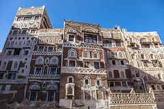 old palaces with the yemenistyle in the old Sana'a, yemen (anthony pappone photography) Tags: world pictures travel windows architecture digital canon lens photography photo republic foto image picture culture palace best unesco arab arabia yemen fotografia sanaa ramadan reportage photograher sejima suk finestre arabo yemeni phototravel yaman arabie arabiafelix arabieheureuse اليمن arabianpeninsula يمني صنعاء 也門 йемен جنبية 공화국 υεμένη alyaman yemenpicture yemenpictures ornatewindows eos5dmarkii 아랍 यमन carvedwindows 예멘 mediorient