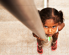 ~ (ganesh_swaminathan) Tags: india girl kids children photography kid eyes tamilnadu girlbaby tamilculture indianchilds chennaiweekendclickers thelightsphotography ganeshswaminathanphotography