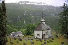 Geiranger Church, Norway (mosesharold) Tags: constellation geiranger celebrityconstellation geirangerchurch