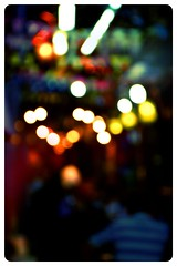 Street lights, big dreams all lookin' pretty (PaintyWall) Tags: street light people blur colors night lights bokeh crowd egypt middleeast mosque cairo busy orient softlight oldcairo khanelkhalili colorsinourworld