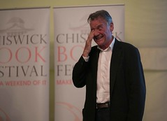 "Michael Palin at Chiswick Book Festival • <a style=""font-size:0.8em;"" href=""http://www.flickr.com/photos/67718176@N07/7985060507/"" target=""_blank"">View on Flickr</a>"