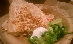 Pulled Pork Quesadilla @ Qdoba Mexican Grill (HeadGEAR56) Tags: food quesadilla mexicancuisine qdobamexicangrill foodspotting pulledporkquesadilla foodspotting:place=159028 foodspotting:review=2399703