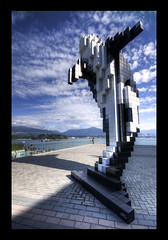 Digital Orca by Douglas Coupland (_K5A4688_89_90_91_92) ([Rossco]:[www.rgstrachan.com]) Tags: sculpture canada art public vancouver britishcolumbia centre convention douglascoupland digitalorca
