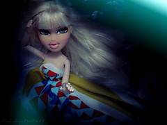 BNTM Cycle 3, Week 1: Underwater (RainbowDoll489) Tags: water mystery flow underwater mystical forever flowing bratz vinessa diamondz bntm rainbowdoll489