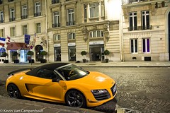 One of 333 (Kevin Van C) Tags: paris france canon eos hall spyder audi supercar pershing r8 hypercar worldcars