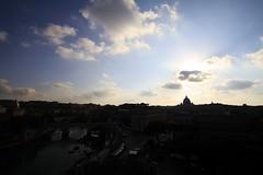 Sant_Angelo_MG_4329 (NickyBoomBoom) Tags: italy vatican rome roma building canon landscape europe italia vaticano 7d tamron vaticancity  saintpetersbasilica pontesantangelo 1024mm  puentesantangelo