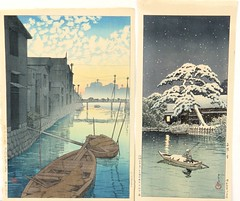 86. Two Japanese Woodblocks