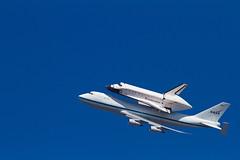 Endeavor's last ride (Seth Bricel) Tags: space jet nasa laboratory shuttle boeing spaceshuttle jpl 747 endeavor propulsion