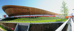 London 2012 Velodrome (mjsearle121) Tags: panorama london cycling nikon august september filter handheld olympics venue inspire generation velodrome 2012 paralympics london2012 d300 polariser 18200mm inspireageneration