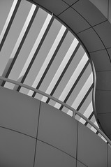 Getty Center: functionalism (reflexbeginner) Tags: sanfrancisco nyc bw usa newyork nature america landscape nationalpark nikon honeymoon unitedstates nikkor viaggiodinozze statiuniti d90 wonderfulview