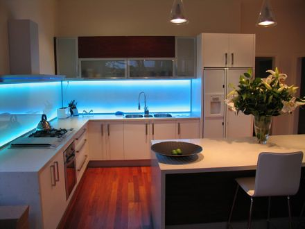 led-illumination-blue-light