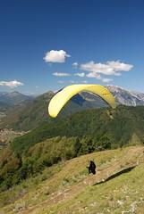 Launch_5 (Tim Meyer Paragliding Photography) Tags: nova slovenia tolmin soca kobala