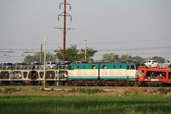 C' bisarca e bisarca.......... (Maurizio Zanella) Tags: italia trains db railways aw fs alessandria trenitalia treni autozug ferrovie e656 pontecurone arenaways