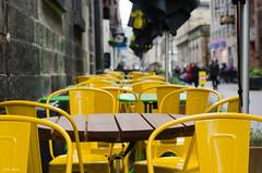 A to Z ~ Chairs (BGDL) Tags: edinburgh atoz rosestreet jamieskitchen nikond7000 elementsorganizer bgdl nikkor50mm118g cforchairs