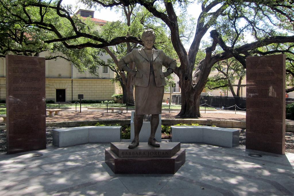 96d2392d46c Austin - UT: Barbara Jordan Statue (wallyg) Tags: sculpture college statue  austin