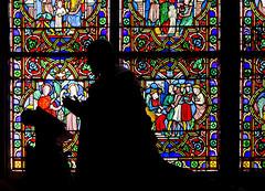 Inside Notre Dame (Fil.ippo) Tags: paris parigi notre dame interior interno stained glass vetrata colors colori filippo nikon d7000 church chiesa filippobianchi