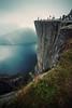 Preikestolen (Youronas) Tags: norway rock stone landscape norwegen cliffs fjord landschaft preikestolen lysefjord prekestolen fjorden klippe austagder predigerstuhl fylke felsabbruch