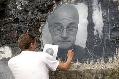 Portrait on the Wall (Leo Reynolds) Tags: 0sec hpexif webthing photofunia xleol30x