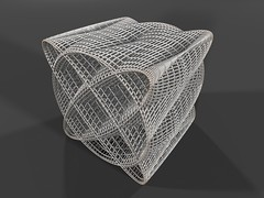 Variations of Sine Surface (fdecomite) Tags: geometry surface math povray sine