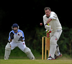 120707.102. Martin Christian.  (GIDS20120707F-002_C) (actionsnaps) Tags: sport kent cricket bowler wicket thanet broadstairs batsman nelsoncricketclub danecourtschool worthcricketclub kentregionalcricketclub