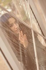 Breaking Glass (mazell24.net) Tags: portrait girl beauty female hair emotion femme curls expressive frau blackhair emotive