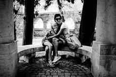 Fuji X100-280812-0090.jpg (pietroferrarifotografie) Tags: portrait bw fuji estate famiglia emma persone ok città lagodigarda esterni x100 vittoriale stagione lulli gardoneriviera 001passo1ambiente 002passo2persone 003passo3location 008passo8gear