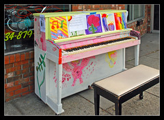 Pianos 'Round Town in Ypsilanti (sjb4photos) Tags: michigan piano ypsilanti novaphoto decoratedpiano pianosroundtown