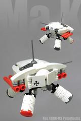 Fns. 480A-U3 Polarfuchs (halfbeak) Tags: snow lego mak vampyre arcticfox polarfuchs maschinenkrieger microscale