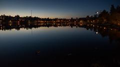 Valkeinen (jmhuttun) Tags: sunset lake night finland dark nikon bond kuopio d800 valkeinen northernsavonia