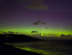 Auroral Reflections (Donegal Skies) Tags: aurora northernlights auroraborealis earthandspace Astrometrydotnet:status=solved Astrometrydotnet:version=14400 brendanalexander Astrometrydotnet:id=alpha20121005017399 competition:astrophoto=2013 donegalirelandlocationdonegalireland
