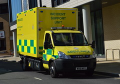 East of England Ambulance Service / Iveco Daily / Incident Support Unit / WX61 KVV (Chris' Transport Pics) Tags: life uk blue light england film speed hospital lights nikon bars pix fuji threatening united fine 911 blues samsung kingdom ambulance medical health national nhs finepix trust and fujifilm service hd saving emergency medic paramedic savers 112 siren 999 twos strobes lightbars rotators d3000 leds s2750
