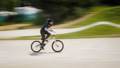 eyes on the prize (damianmkv) Tags: runnymederockets bmx mongoose bmxracing panning em1sport