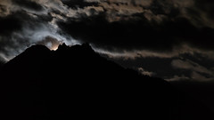 Neukirchen Moonset (Jon Ames) Tags: moonset moon nighttime neukirchen austria alps sterreich tauern