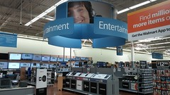 Entertainment, Redone (Retail Retell) Tags: hernando ms walmart desoto county retail project impact supercenter store 5419 interior remodel black dcor 20 icons
