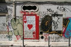 Ace heart (Jrgo) Tags: streetartporto portstreetart streetartportugal porto portugal outsiderart outsiderartporto outsiderartportugal graffitiportugal portugalgraffiti streetsofporto urbanart art streetart graffiti playingcard ace heart
