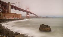 Fort Point,San Francisco (katiewong511) Tags: sanfrancsico beach pacificocean dogarea fishing outdoor california goldengatepark nationalpark foggy surfing nationalhistoricsite fortpoint goldengatebirge crissyfield presidio bigstopper longexposure