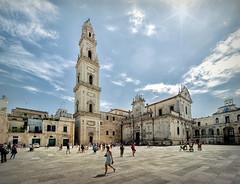 Lecce - Duomo di Maria Santissima Assunta (R.o.b.e.r.t.o.) Tags: lecce puglia salento italia italy chiesa church cattedrale basilica duomo barocco cathedral piazzadelduomo