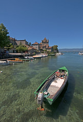 Yvoire (Pierre__Arnaud) Tags: yvoire france lac leman boat bateau