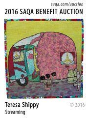 Streaming by Teresa Shippy (saqaart) Tags: artquilts saqa fiberart quilts textiles artwork stitched layered rving lifeontheroad